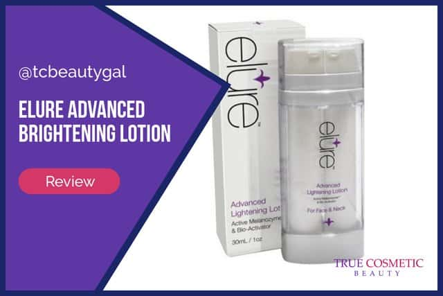Elure Advanced Brightening Lotion Review
