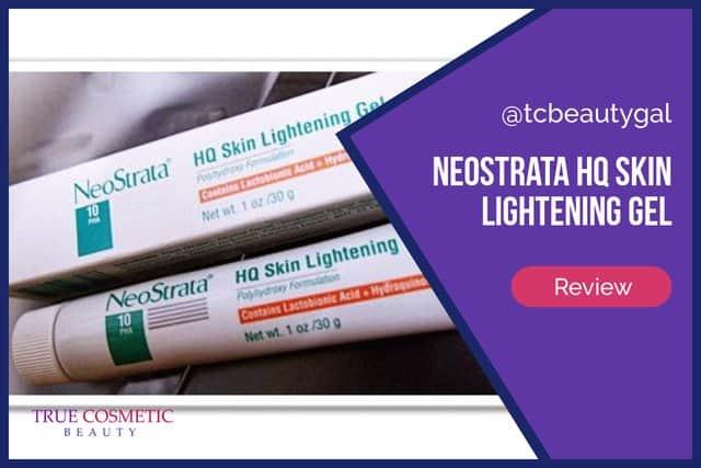 NeoStrata HQ Skin Lightening Gel Details & Reviews