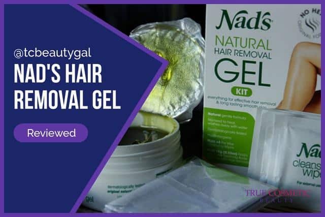Nad's Hair Removal Gel review