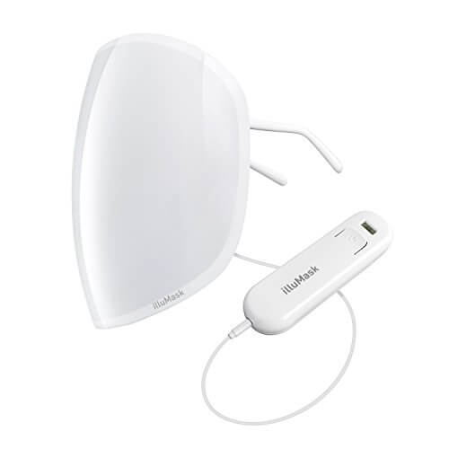 IlluMask - LED Anti-Aging Light Therapy Mask for Younger Looking Skin In Just 15 Minutes Every Day