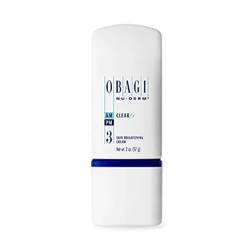 Obagi Medical Nu-Derm Clear Fx Skin Brightening Cream with Arbutin and Vitamin C for Dark Spots and Hyperpigmentation, Hydroquinone-Free Formula. 2 Oz (57 g)
